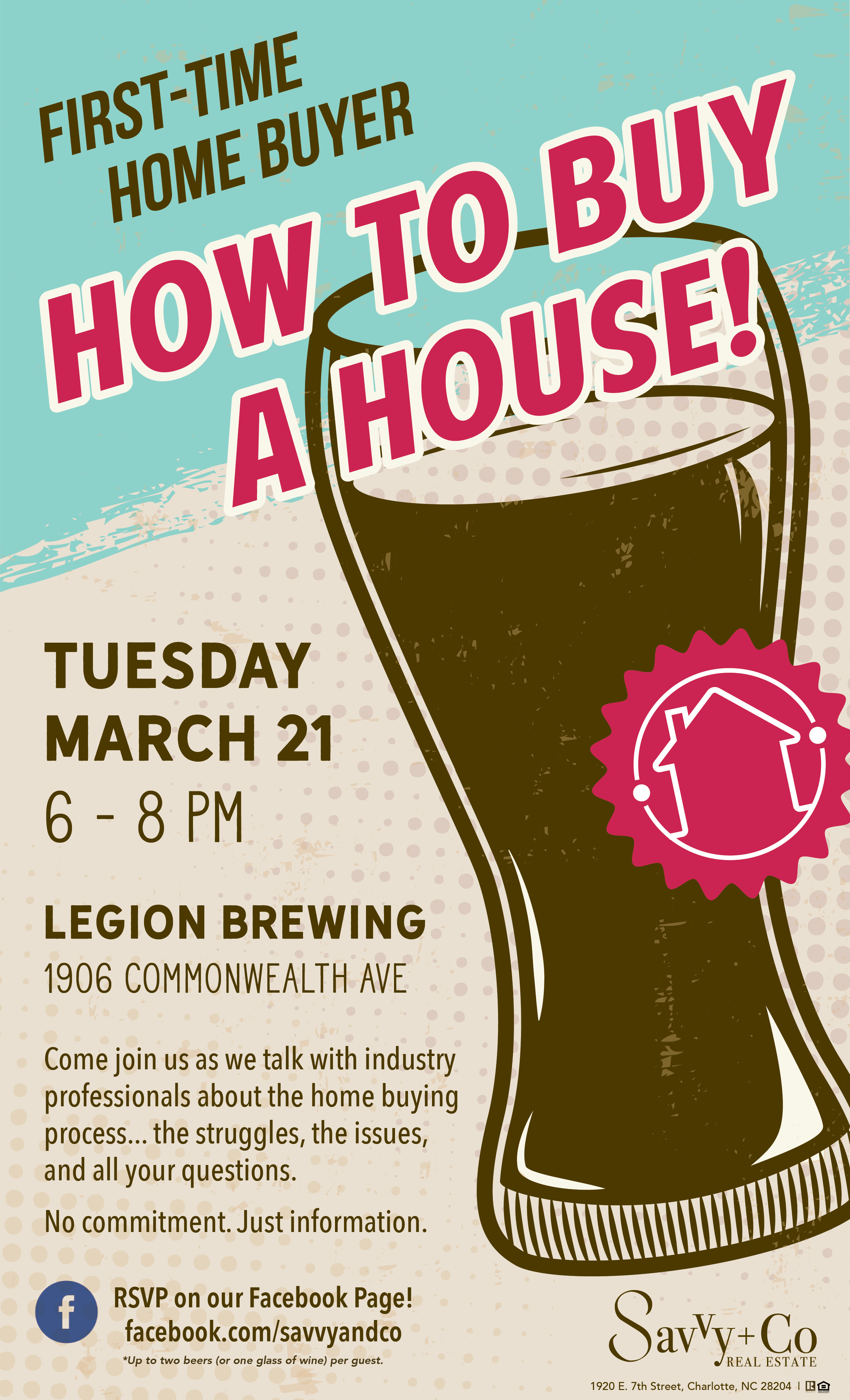 first time home buyer happy hour at legion brewing hiphoods invitation first time home buyer class 2017 legion brewery v2